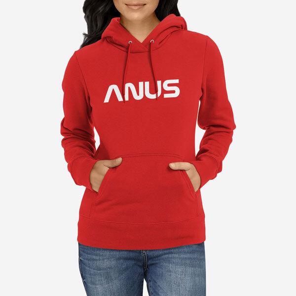 Ženski pulover s kapuco Anus