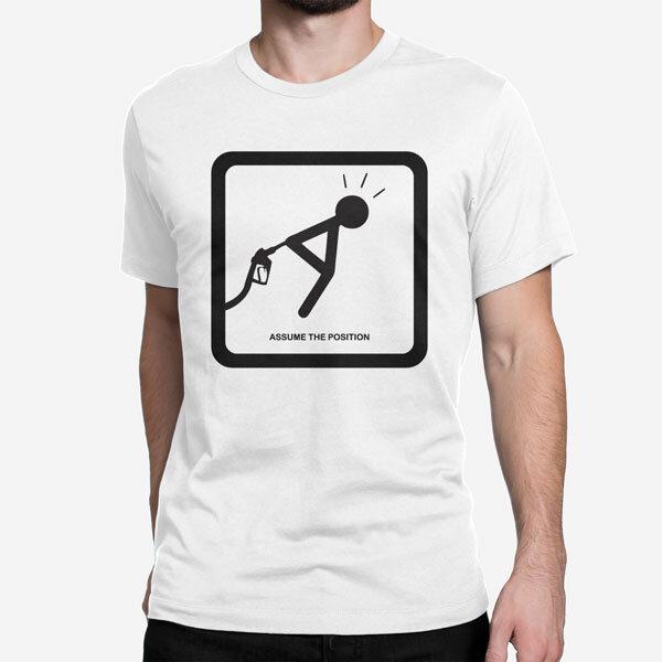 Moška kratka majica Pozicija
