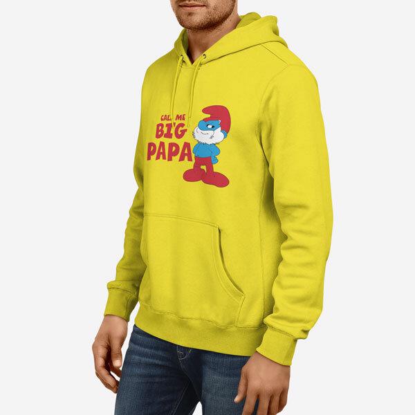 Moški pulover s kapuco Ata Smrk