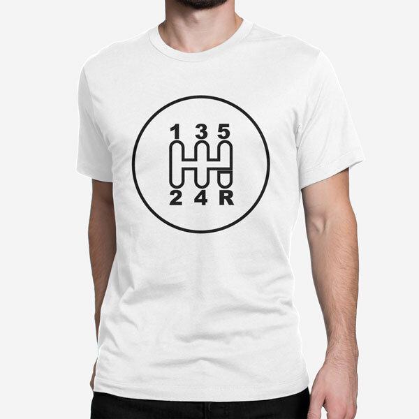 Moška kratka majica Avtomobilska ročica
