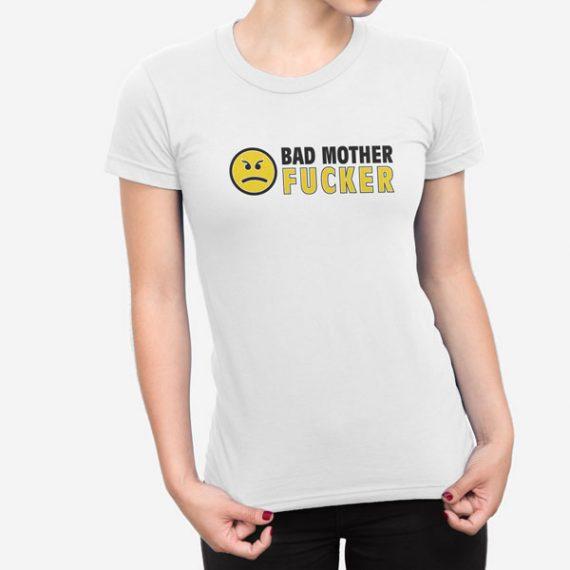 Ženska kratka majica Bad Fucker