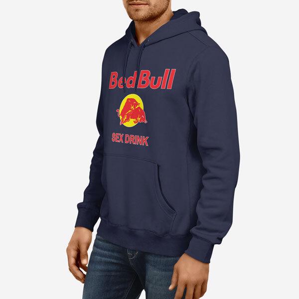 Moški pulover s kapuco Bed Bull