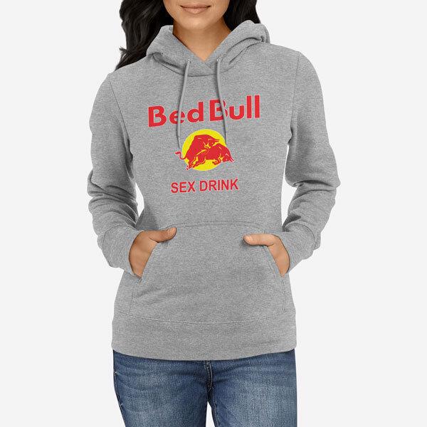 Ženski pulover s kapuco Bed Bull