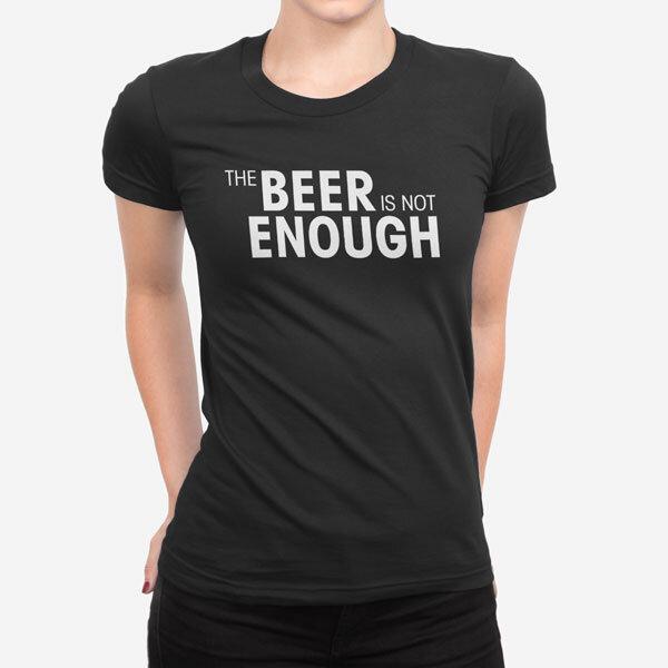 Ženska kratka majica Beer Enough