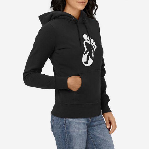 Ženski pulover s kapuco Big Foot