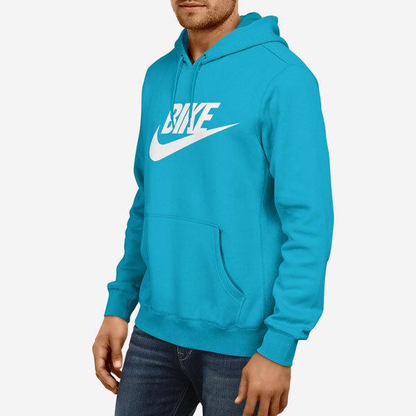 Moški pulover s kapuco Bike