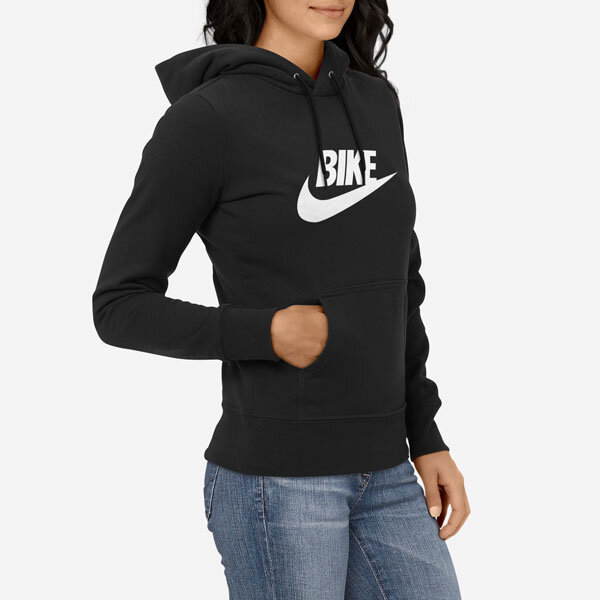 Ženski pulover s kapuco Bike