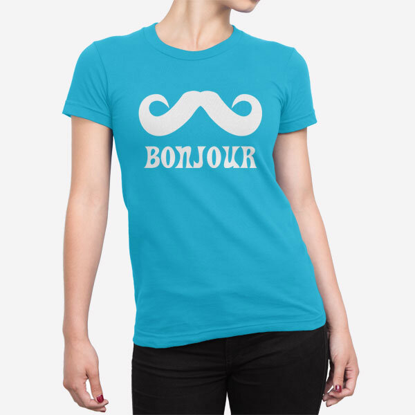 Ženska kratka majica Bonjour
