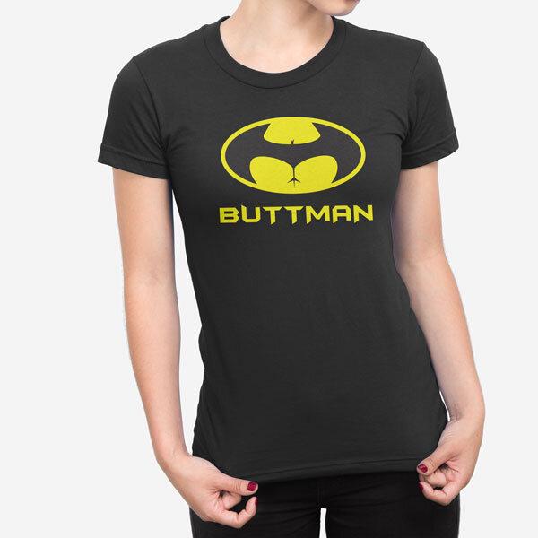 Ženska kratka majica Buttman