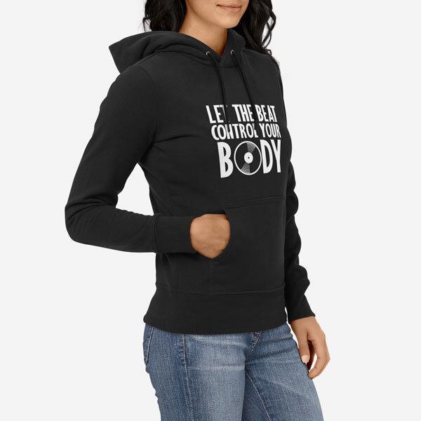 Ženski pulover s kapuco Nadzor