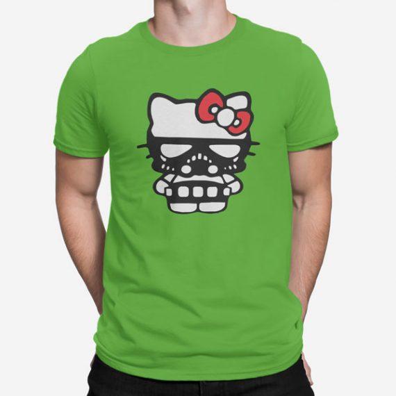 Moška kratka majica Temna stran Kitty