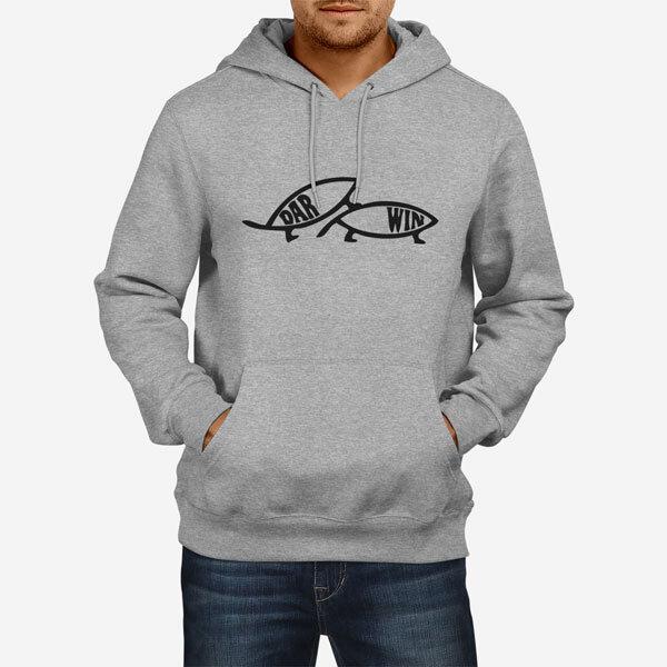Moški pulover s kapuco Darwin