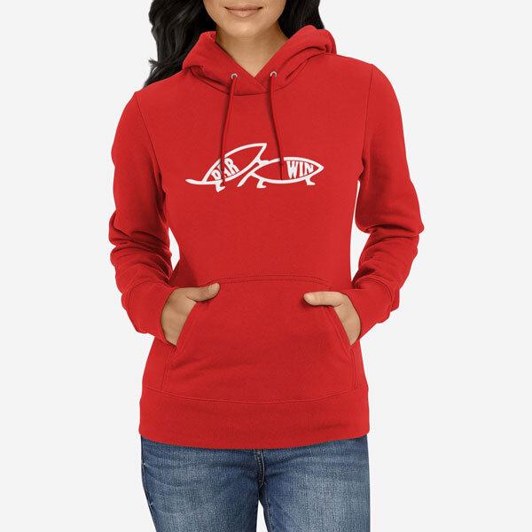 Ženski pulover s kapuco Darwin