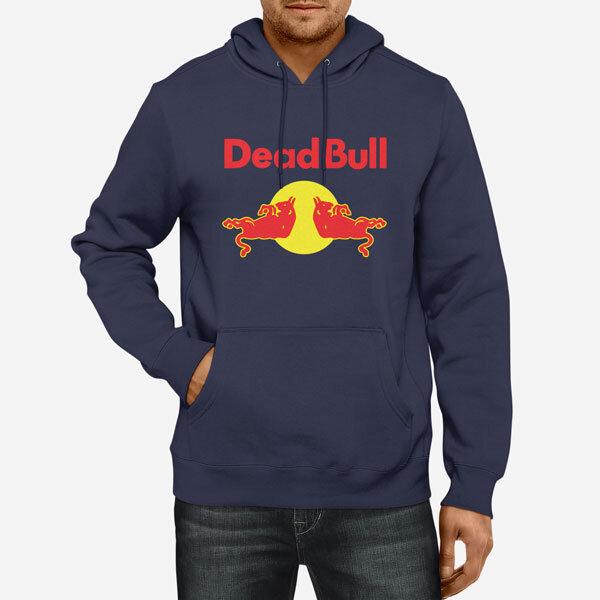 Moški pulover s kapuco Dead Bull