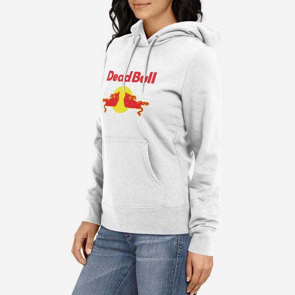 Ženski pulover s kapuco Dead Bull