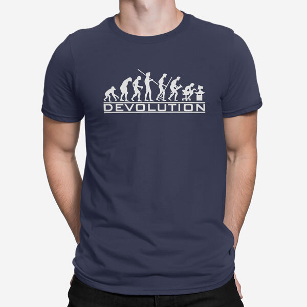 Moška kratka majica Devolution
