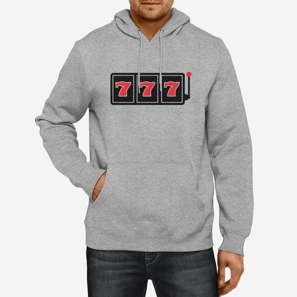 Moški pulover s kapuco Sedmica dobitek