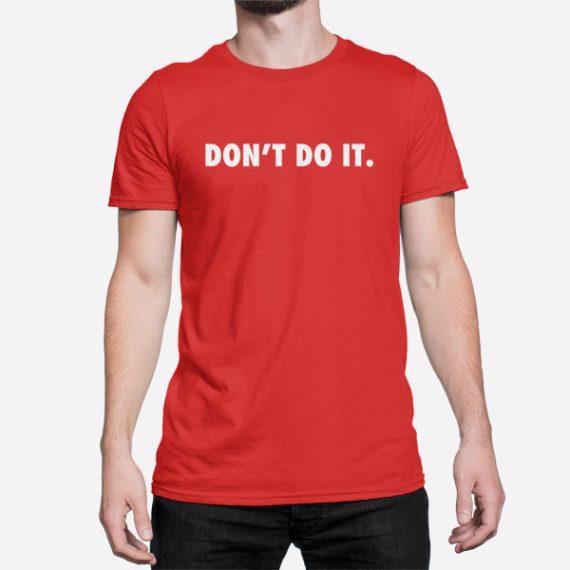 Moška kratka majica Ne stori