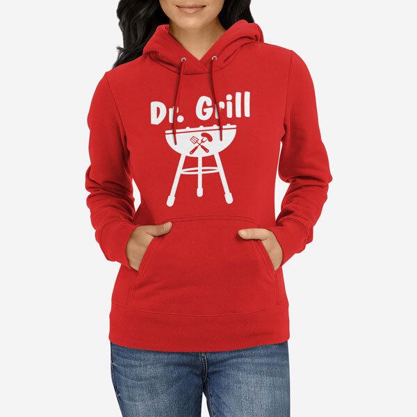 Ženski pulover s kapuco Dr. Grill