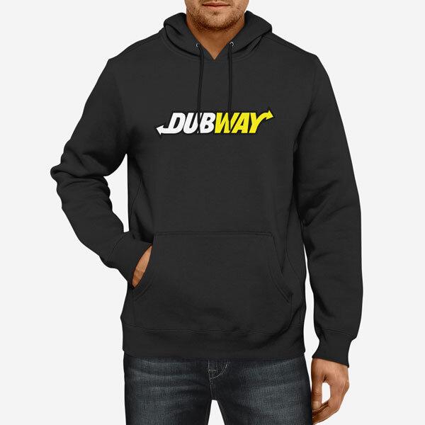 Moški pulover s kapuco Dubway