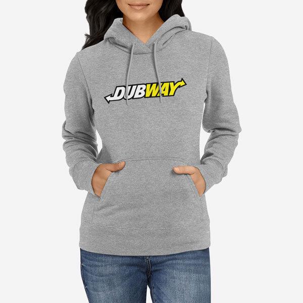 Ženski pulover s kapuco Dubway