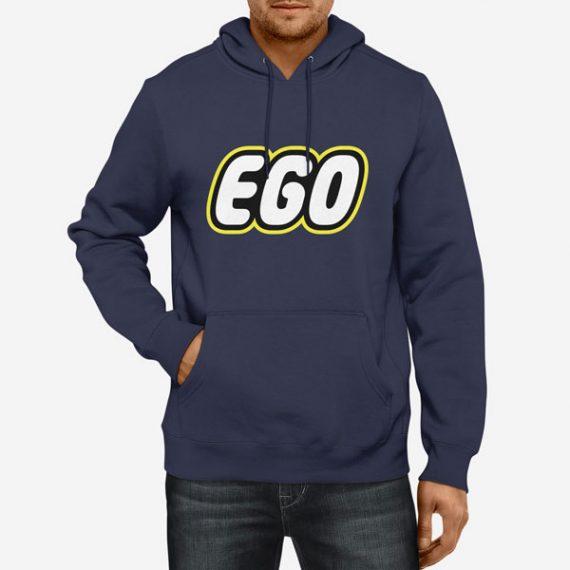 Moški pulover s kapuco Ego