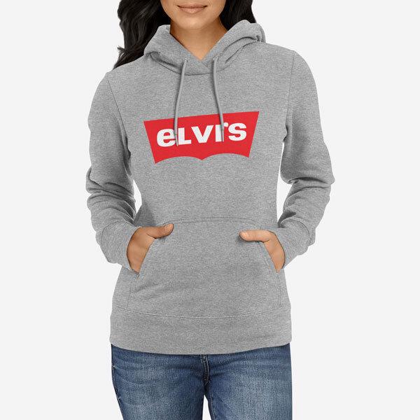 Ženski pulover s kapuco Elvis