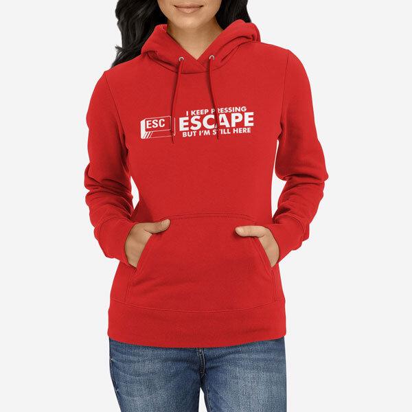 Ženski pulover s kapuco Escape