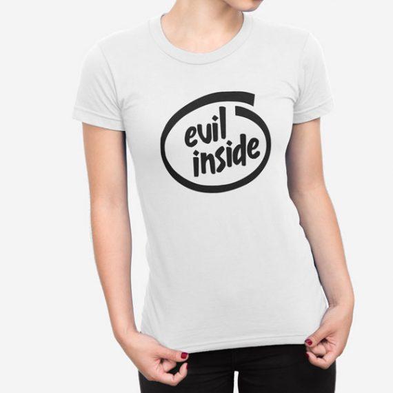 Ženska kratka majica Evil Inside