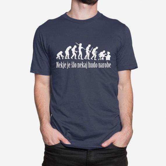 Moška kratka majica Evolucija