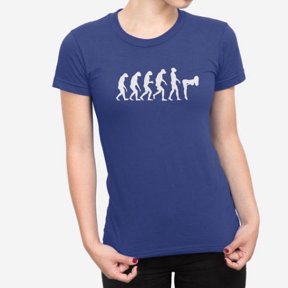 Ženska kratka majica Evolucija Seksa