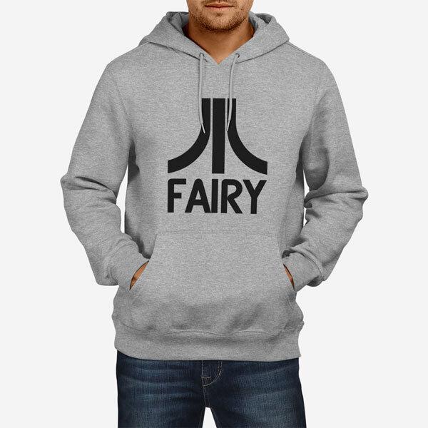 Moški pulover s kapuco Fairy