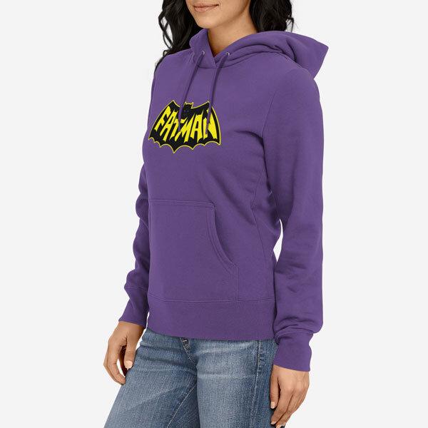 Ženski pulover s kapuco Fatman