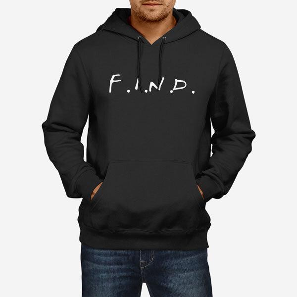 Moški pulover s kapuco F.I.N.D.