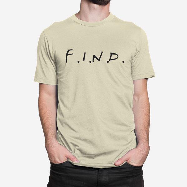 Moška kratka majica F.I.N.D.
