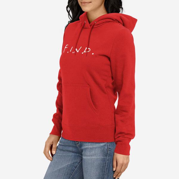 Ženski pulover s kapuco F.I.N.D.