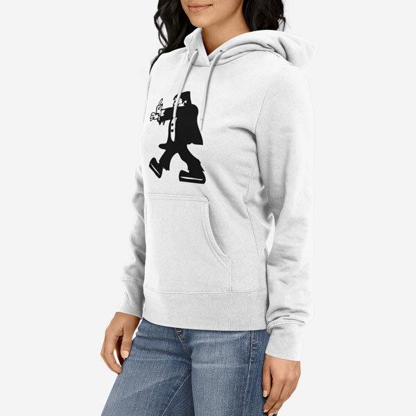 Ženski pulover s kapuco Fuckstein
