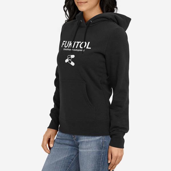 Ženski pulover s kapuco Fukitol