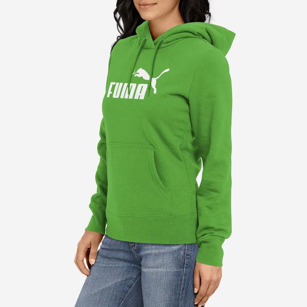 Ženski pulover s kapuco Fuma