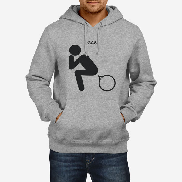 Moški pulover s kapuco Gas
