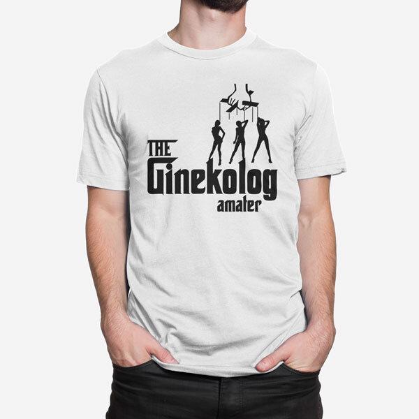 Moška kratka majica Ginekolog amater