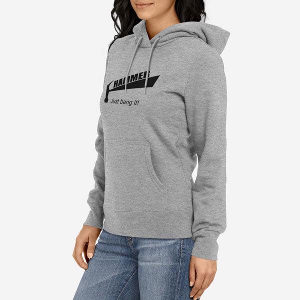 Ženski pulover s kapuco Hammer