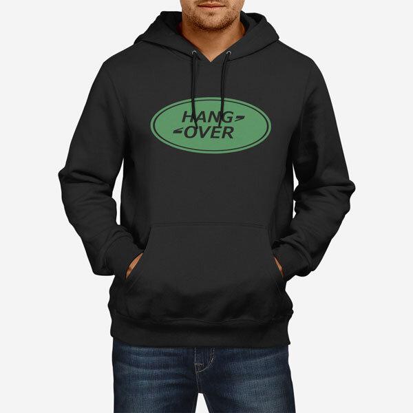 Moški pulover s kapuco Hang Over