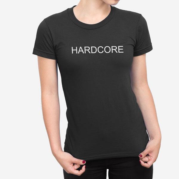 Ženska kratka majica Hardcore