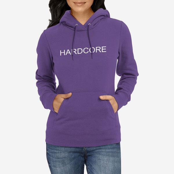 Ženski pulover s kapuco Hardcore