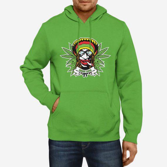 Moški pulover s kapuco High Life