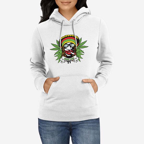 Ženski pulover s kapuco High Life