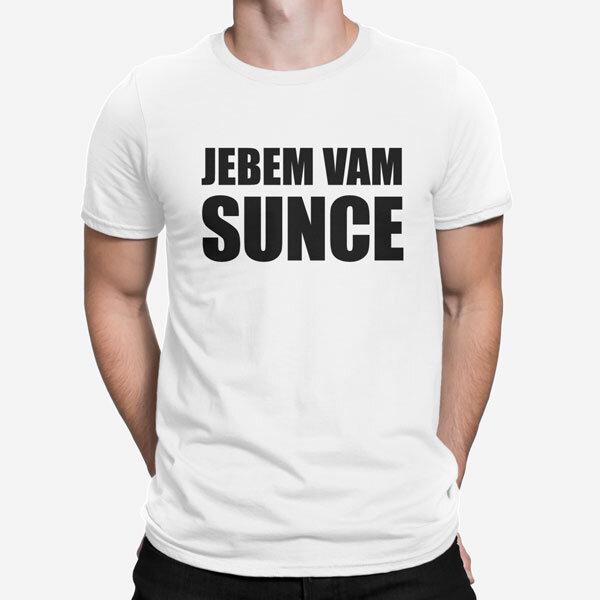 Moška kratka majica Jebem vam sunce