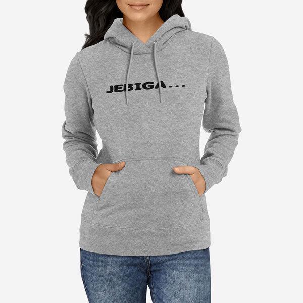 Ženski pulover s kapuco Jebiga