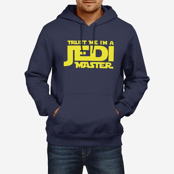 Moški pulover s kapuco Jedi Master